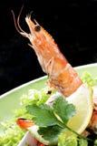 σαλάτα γαρίδων Στοκ εικόνες με δικαίωμα ελεύθερης χρήσης