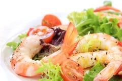 σαλάτα γαρίδων Στοκ εικόνα με δικαίωμα ελεύθερης χρήσης