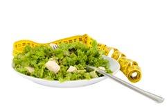 σαλάτα ελιών μαρουλιού φέτας τυριών Στοκ φωτογραφία με δικαίωμα ελεύθερης χρήσης