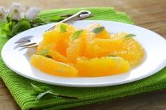 Σαλάτα καρπού με το πορτοκάλι Στοκ Φωτογραφίες