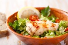 σαλάτα κοτόπουλου στοκ φωτογραφία με δικαίωμα ελεύθερης χρήσης
