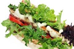 σαλάτα κοτόπουλου baguette Στοκ Εικόνες