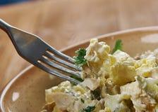 Σαλάτα κοτόπουλου Zesty που διαδίδεται στοκ φωτογραφία με δικαίωμα ελεύθερης χρήσης