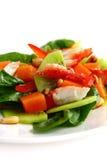 σαλάτα κρέατος καβουριώ& Στοκ εικόνες με δικαίωμα ελεύθερης χρήσης