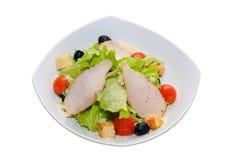 σαλάτα κρέατος κοτόπου&lambda Στοκ Εικόνα
