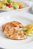 σαλάτα μενταγιόν κοτόπου&l Στοκ φωτογραφία με δικαίωμα ελεύθερης χρήσης