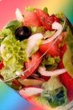 σαλάτα μεσημεριανού γεύμ&a Στοκ Φωτογραφίες