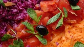 σαλάτα πιάτων Στοκ εικόνα με δικαίωμα ελεύθερης χρήσης