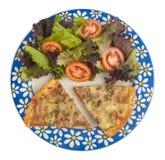 σαλάτα πιτσών στοκ εικόνα με δικαίωμα ελεύθερης χρήσης