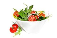 σαλάτα που πετιέται Στοκ Εικόνες