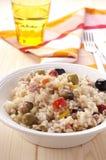 σαλάτα ρυζιού Στοκ Εικόνα