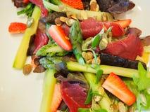 Σαλάτα σπαραγγιού και prosciutto Στοκ Εικόνα