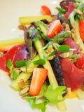 Σαλάτα σπαραγγιού και prosciutto Στοκ Εικόνες