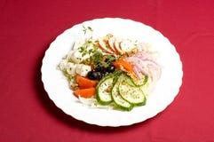 σαλάτα φέτας τυριών Στοκ φωτογραφίες με δικαίωμα ελεύθερης χρήσης