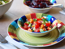 σαλάτα χορτοφάγος Στοκ Φωτογραφίες