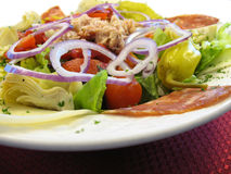 σαλάτα antipasto Στοκ εικόνες με δικαίωμα ελεύθερης χρήσης