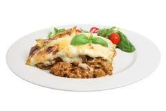 σαλάτα lasagna Στοκ Εικόνα