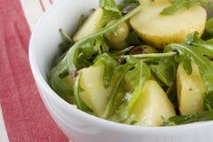 σαλάτα rucola πατατών Στοκ Εικόνα