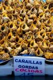 Σαλιγκάρια θάλασσας στο στάβλο αγοράς Στοκ φωτογραφίες με δικαίωμα ελεύθερης χρήσης