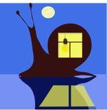 σαλιγκάρι νύχτας Στοκ Εικόνες