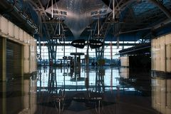 σαλόνι αερολιμένων Στοκ Εικόνες