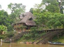 Σαλόνι ποταμών στον ποταμό της Αμαζώνας στοκ φωτογραφίες με δικαίωμα ελεύθερης χρήσης