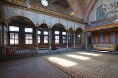 Σαλόνι στο παλάτι Topkapi Στοκ φωτογραφία με δικαίωμα ελεύθερης χρήσης