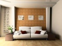 σαλόνι Στοκ εικόνα με δικαίωμα ελεύθερης χρήσης