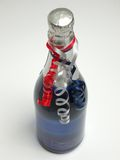 σαμπάνια μπουκαλιών Στοκ φωτογραφίες με δικαίωμα ελεύθερης χρήσης