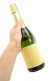 σαμπάνια μπουκαλιών Στοκ Φωτογραφία