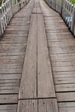 σανίδα γεφυρών ξύλινη Στοκ φωτογραφίες με δικαίωμα ελεύθερης χρήσης