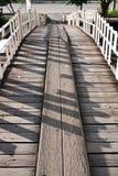 σανίδα γεφυρών ξύλινη Στοκ φωτογραφία με δικαίωμα ελεύθερης χρήσης