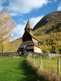 σανίδα εκκλησιών urnes Στοκ Εικόνες