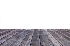 Σανίδες που απομονώνονται παλαιές στο λευκό Στοκ φωτογραφία με δικαίωμα ελεύθερης χρήσης