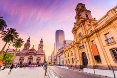 Σαντιάγο de Χιλή, Χιλή Στοκ φωτογραφίες με δικαίωμα ελεύθερης χρήσης