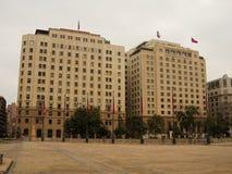 Σαντιάγο de Χιλή Plaza de Λα constitucion Στοκ φωτογραφίες με δικαίωμα ελεύθερης χρήσης