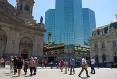 Σαντιάγο de Χιλή - Plaza de Armas - IV - Στοκ φωτογραφίες με δικαίωμα ελεύθερης χρήσης