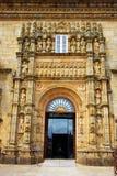 Σαντιάγο de Compostela Parador σε Obradoiro τετράγωνο Στοκ εικόνες με δικαίωμα ελεύθερης χρήσης