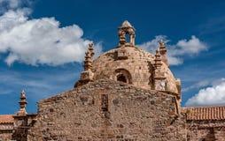 Σαντιάγο de Pupuka Church σε Pukara, Περού στοκ φωτογραφία με δικαίωμα ελεύθερης χρήσης