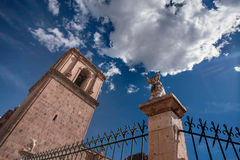 Σαντιάγο de Pupuka Church σε Pukara, Περού στοκ φωτογραφίες
