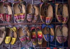 Σανδάλια δέρματος Huarache Handcrafted Στοκ εικόνα με δικαίωμα ελεύθερης χρήσης