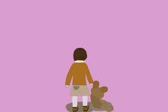 Σαν εγκαταλειμμένο παιδί Στοκ Εικόνα