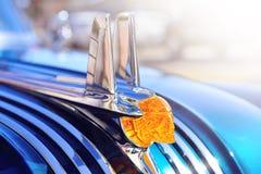 ΣΑΝ ΝΤΙΕΓΚΟ, ΚΑΛΙΦΟΡΝΙΑ, ΗΠΑ - 8 ΣΕΠΤΕΜΒΡΊΟΥ: διακόσμηση κουκουλών Pontiac Στοκ Φωτογραφίες