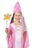 σαν ντυμένο κορίτσι νεράιδ& Στοκ Εικόνες