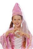 σαν ντυμένο κορίτσι νεράιδ& Στοκ Φωτογραφία