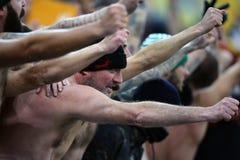 ΣΑΝ οπαδούς ποδοσφαίρου της Ρώμης Στοκ Εικόνες