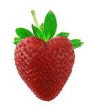 σαν φράουλα καρδιών στοκ φωτογραφία με δικαίωμα ελεύθερης χρήσης
