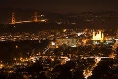 Σαν Φρανσίσκο από τους δίδυμους πύργους Στοκ Εικόνες