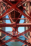 Σαν Φρανσίσκο, Καλιφόρνια, ΗΠΑ διάνυσμα εικόνας πόλεων αρχιτεκτονικής Στοκ Εικόνες