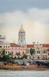 Σαν Φρανσίσκο de Asis Church σε Casco Viejo - πόλη του Παναμά, Παναμάς Στοκ Εικόνες